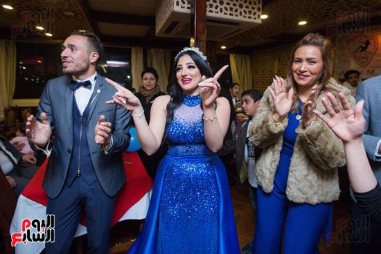 نجوم الزمالك فى حفل خطوبة محمد عنتر و دنيا الحلو (47)
