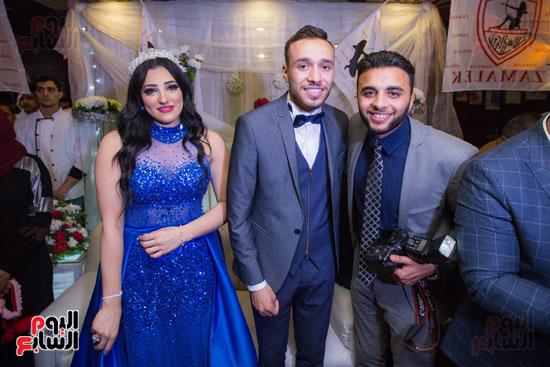 نجوم الزمالك فى حفل خطوبة محمد عنتر و دنيا الحلو (52)