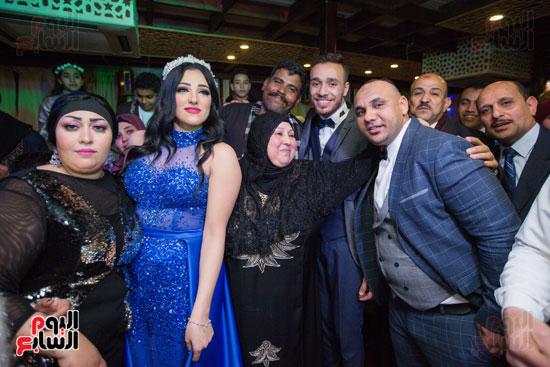 نجوم الزمالك فى حفل خطوبة محمد عنتر و دنيا الحلو (57)