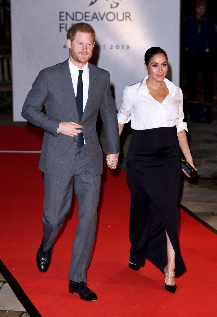 الأمير هارى وزوجته خلال الحفل (3)