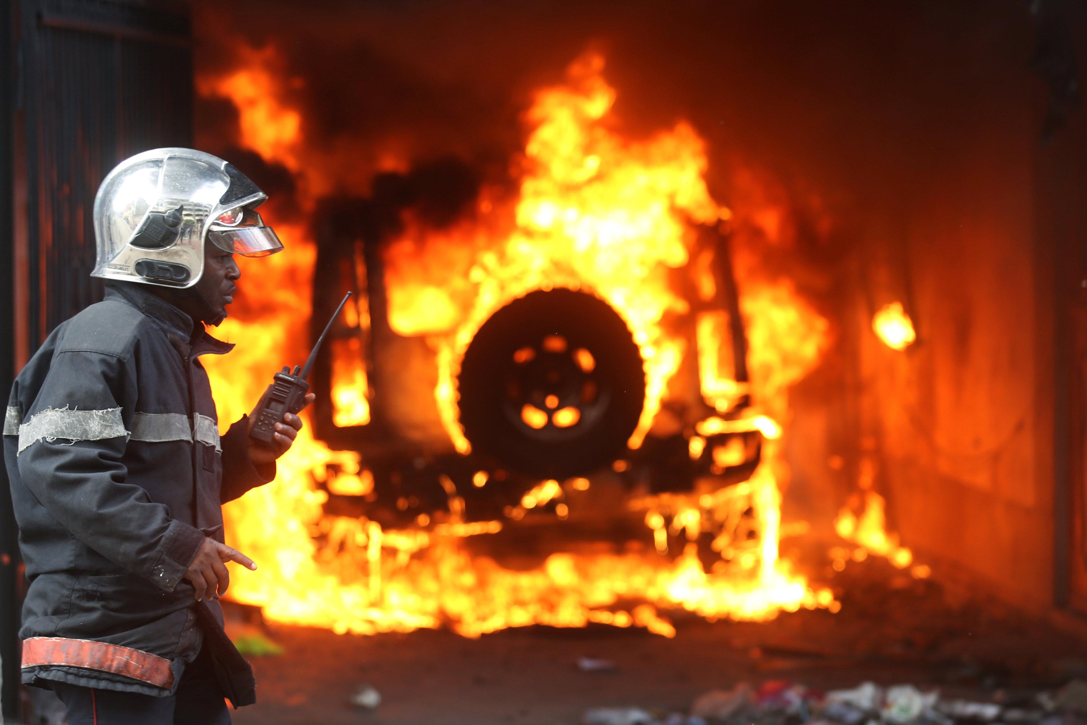 مظاهرات عنيفة فى هايتى بسبب الفساد (9)