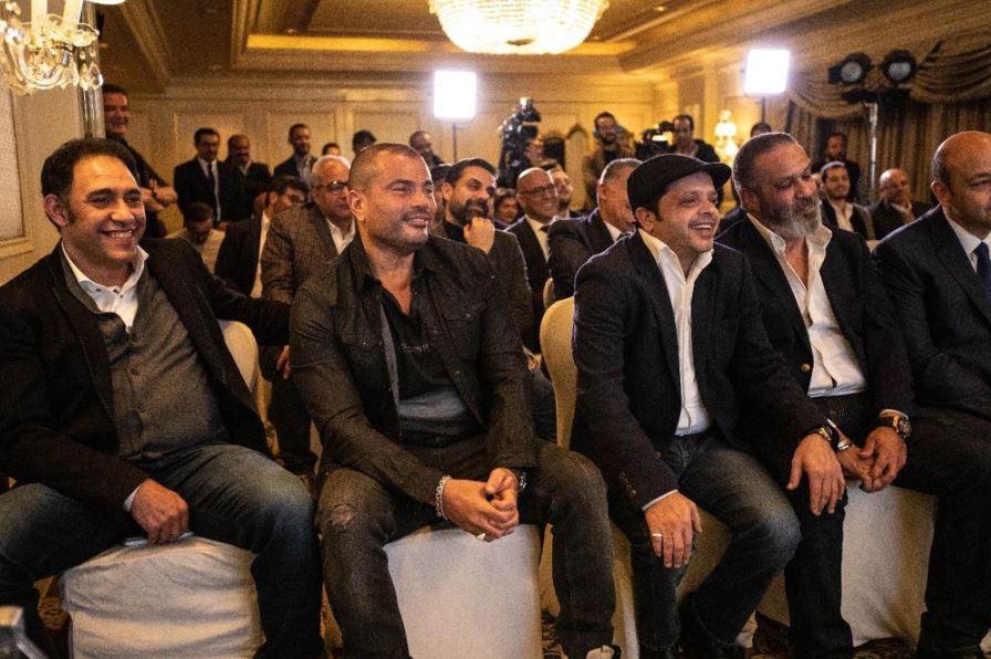 تركى آل الشيخ يوقع مذكرات تفاهم مه شركات الانتاج الفنى والمصرى المصرية  (7)