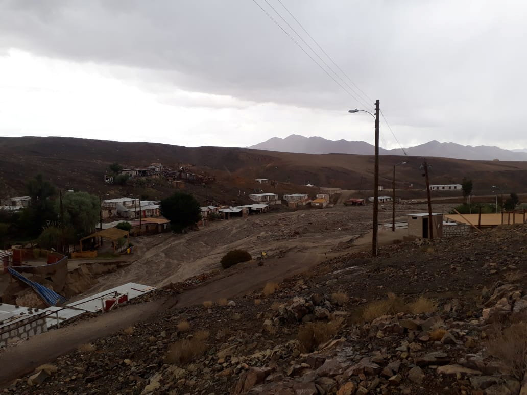 الأمطار الغزيرة فى تشيلى (7)