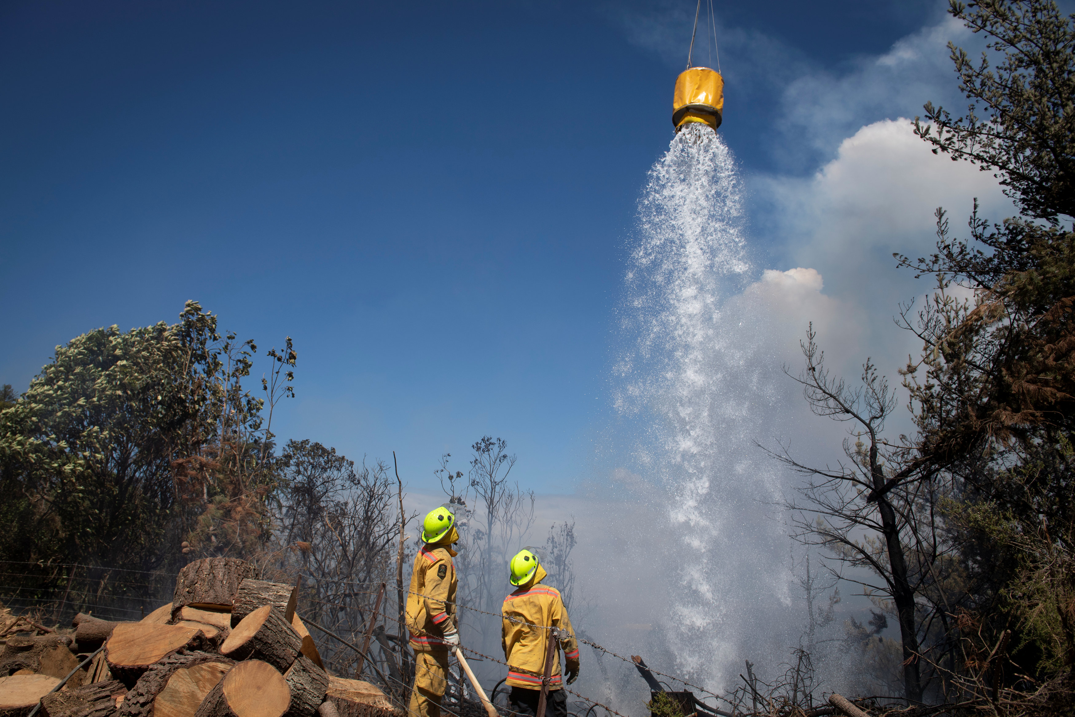 مكافحة حرائق الغابات فى نيوزيلندا (5)