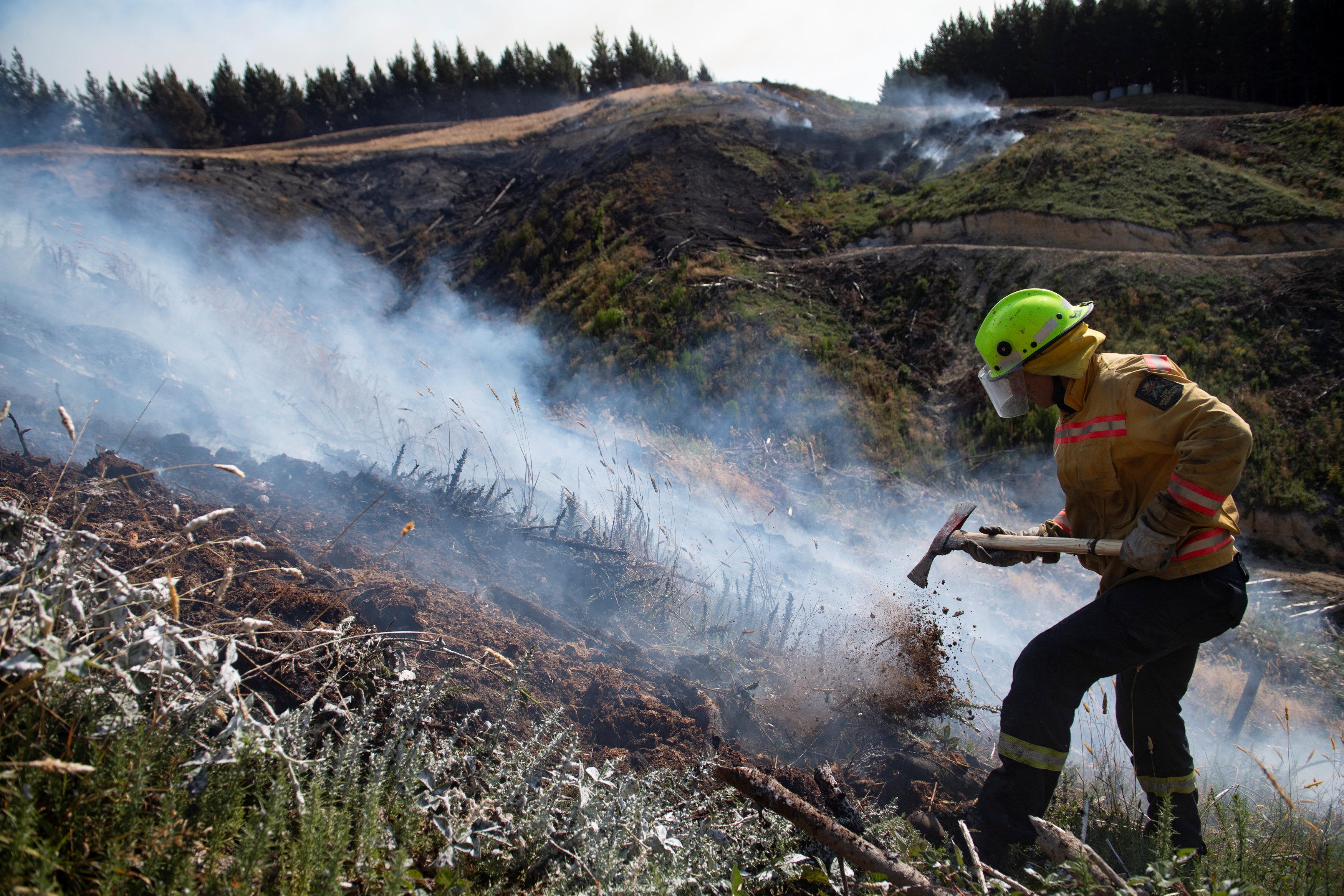 مكافحة حرائق الغابات فى نيوزيلندا (4)