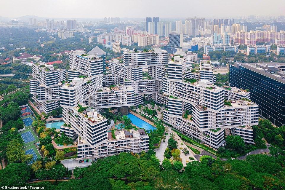 مبنى Interlace فى سنغافورة