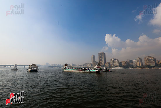 وزيرة البيئة تطلق حملة لتنظيف نهر النيل من المخلفات خاصة البلاستيكية (109)