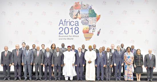 زعماء الدول الافريقية