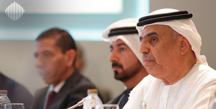 عبيد الطائر وزير الدولة للشئون المالية بدولة الإمارات