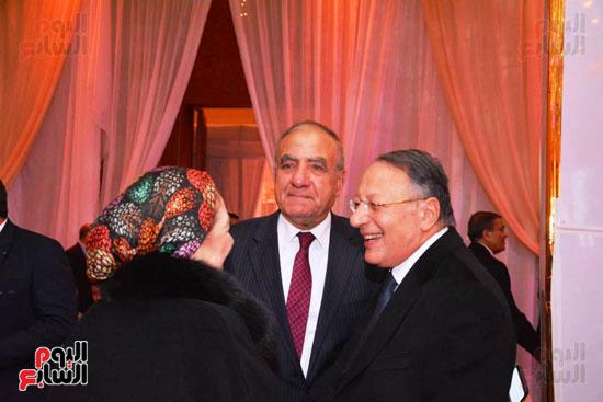 حفل زفاف نجل الوزير زكى عابدين يجمع كبار رجال الدولة (10)