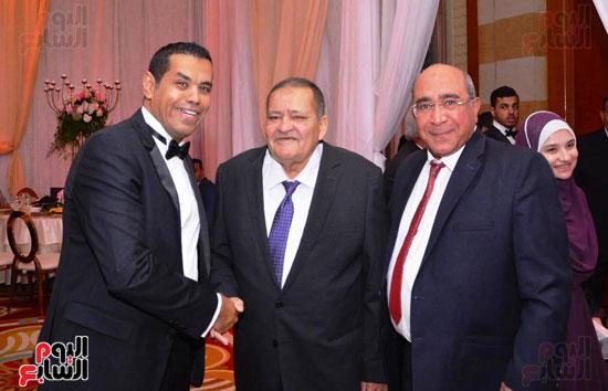 حفل زفاف نجل الوزير زكى عابدين يجمع كبار رجال الدولة (98)