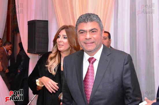 حفل زفاف نجل الوزير زكى عابدين يجمع كبار رجال الدولة (11)