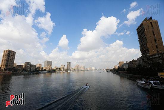 وزيرة البيئة تطلق حملة لتنظيف نهر النيل من المخلفات خاصة البلاستيكية (77)