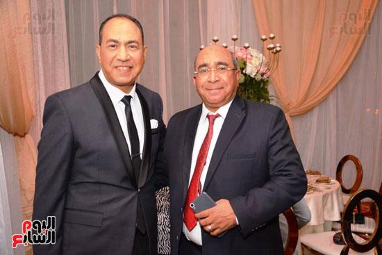 حفل زفاف نجل الوزير زكى عابدين يجمع كبار رجال الدولة (23)