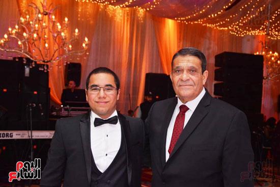 حفل زفاف نجل الوزير زكى عابدين يجمع كبار رجال الدولة (17)