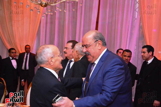 حفل زفاف نجل الوزير زكى عابدين يجمع كبار رجال الدولة (12)