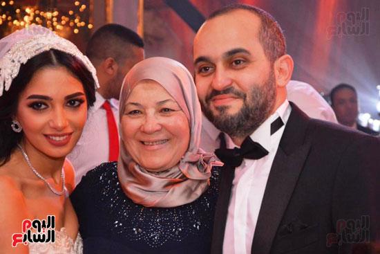 حفل زفاف نجل الوزير زكى عابدين يجمع كبار رجال الدولة (50)