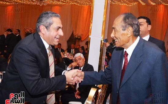 حفل زفاف نجل الوزير زكى عابدين يجمع كبار رجال الدولة (35)