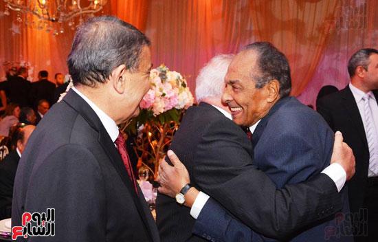 حفل زفاف نجل الوزير زكى عابدين يجمع كبار رجال الدولة (18)