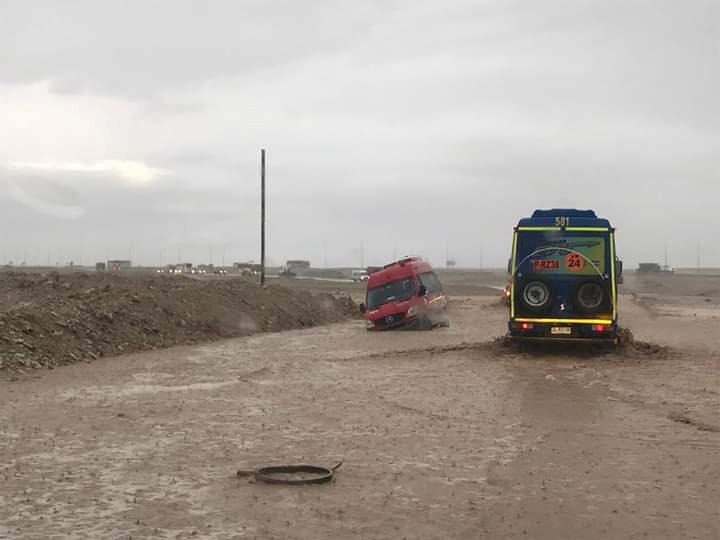 الأمطار الغزيرة فى تشيلى (1)