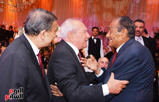 حفل زفاف نجل الوزير زكى عابدين يجمع كبار رجال الدولة (19)