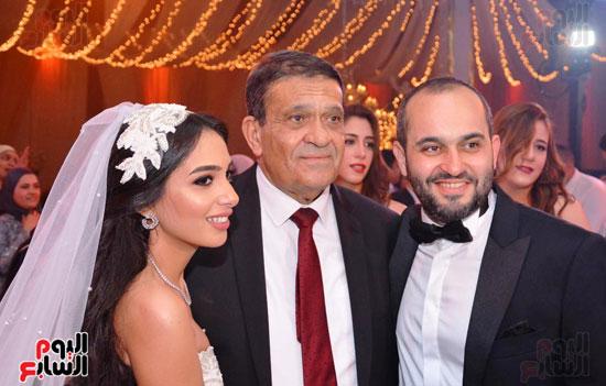 حفل زفاف نجل الوزير زكى عابدين يجمع كبار رجال الدولة (39)