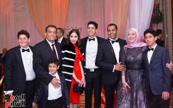 حفل زفاف نجل الوزير زكى عابدين يجمع كبار رجال الدولة (97)