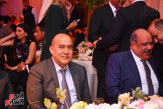 حفل زفاف نجل الوزير زكى عابدين يجمع كبار رجال الدولة (14)
