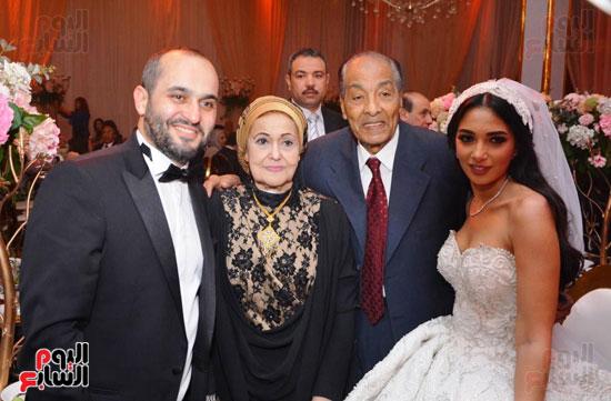 حفل زفاف نجل الوزير زكى عابدين يجمع كبار رجال الدولة (41)