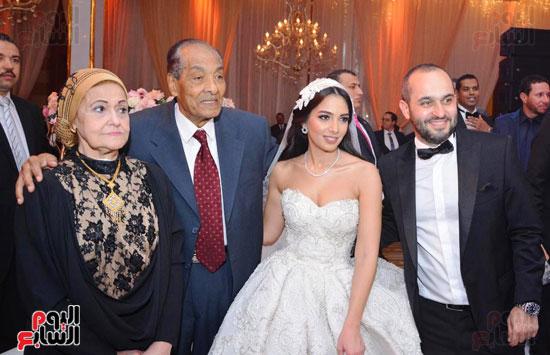 حفل زفاف نجل الوزير زكى عابدين يجمع كبار رجال الدولة (42)