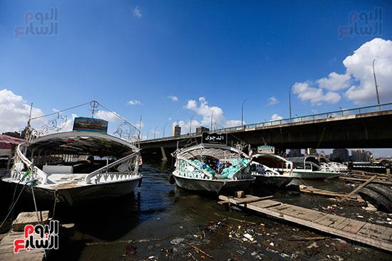 وزيرة البيئة تطلق حملة لتنظيف نهر النيل من المخلفات خاصة البلاستيكية (94)