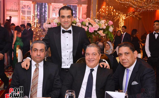حفل زفاف نجل الوزير زكى عابدين يجمع كبار رجال الدولة (32)