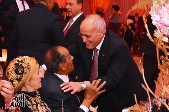 حفل زفاف نجل الوزير زكى عابدين يجمع كبار رجال الدولة (7)