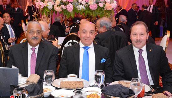 حفل زفاف نجل الوزير زكى عابدين يجمع كبار رجال الدولة (5)