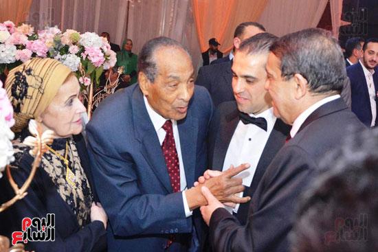 حفل زفاف نجل الوزير زكى عابدين يجمع كبار رجال الدولة (46)