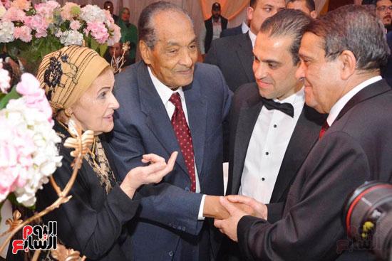 حفل زفاف نجل الوزير زكى عابدين يجمع كبار رجال الدولة (45)