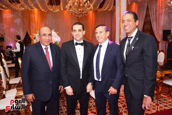 حفل زفاف نجل الوزير زكى عابدين يجمع كبار رجال الدولة (88)