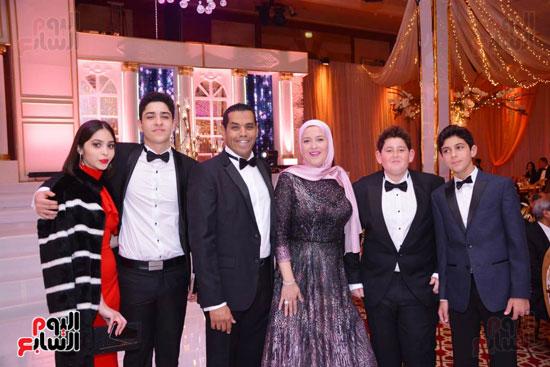 حفل زفاف نجل الوزير زكى عابدين يجمع كبار رجال الدولة (1)