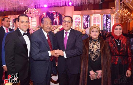 حفل زفاف نجل الوزير زكى عابدين يجمع كبار رجال الدولة (65)