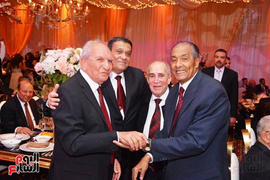 حفل زفاف نجل الوزير زكى عابدين يجمع كبار رجال الدولة (21)