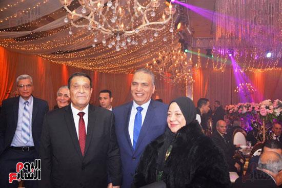 حفل زفاف نجل الوزير زكى عابدين يجمع كبار رجال الدولة (36)