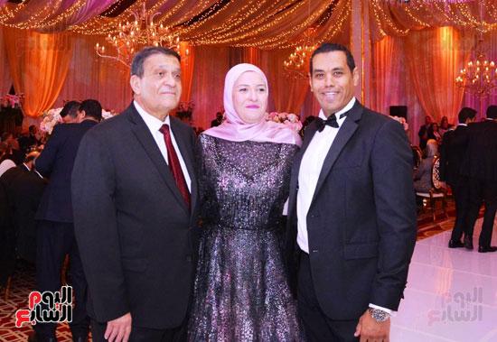 حفل زفاف نجل الوزير زكى عابدين يجمع كبار رجال الدولة (15)