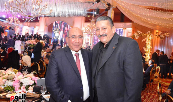 حفل زفاف نجل الوزير زكى عابدين يجمع كبار رجال الدولة (58)