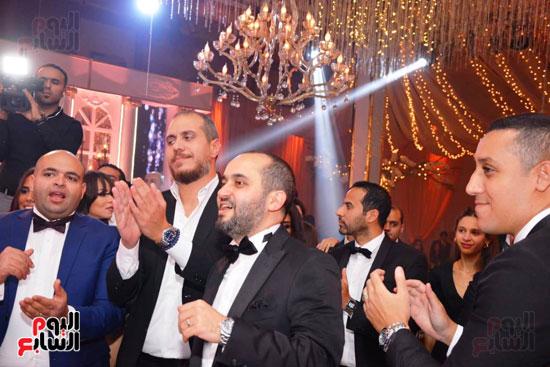 حفل زفاف نجل الوزير زكى عابدين يجمع كبار رجال الدولة (30)