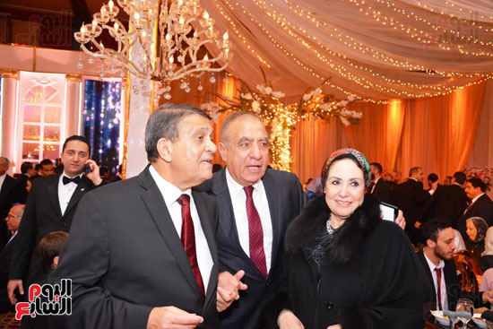 حفل زفاف نجل الوزير زكى عابدين يجمع كبار رجال الدولة (9)