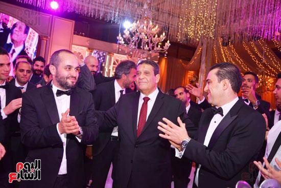 حفل زفاف نجل الوزير زكى عابدين يجمع كبار رجال الدولة (77)