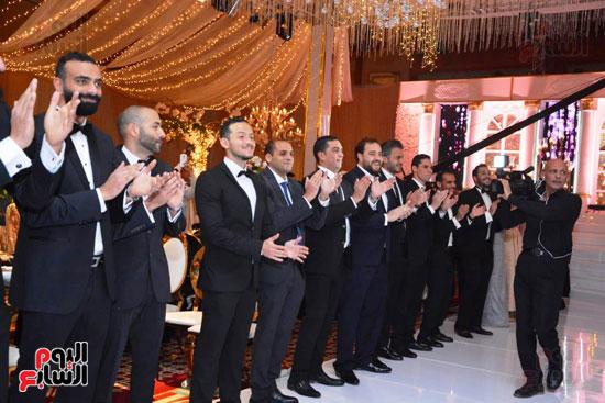 حفل زفاف نجل الوزير زكى عابدين يجمع كبار رجال الدولة (111)