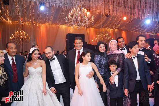 حفل زفاف نجل الوزير زكى عابدين يجمع كبار رجال الدولة (44)