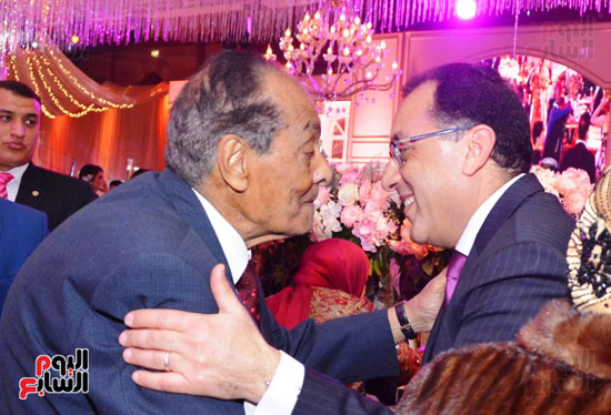 حفل زفاف نجل الوزير زكى عابدين يجمع كبار رجال الدولة (62)