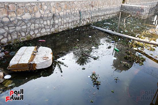 وزيرة البيئة تطلق حملة لتنظيف نهر النيل من المخلفات خاصة البلاستيكية (11)